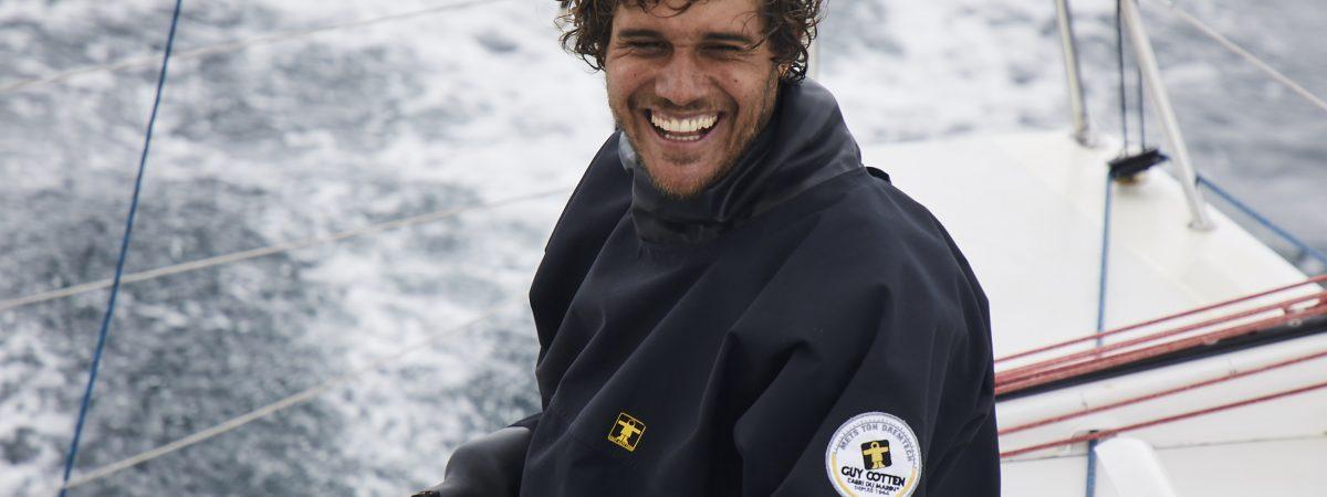 Charles-Louis Mourruau, skipper d'expérience, s'engage pour l'Entraide Marine-Adosm !