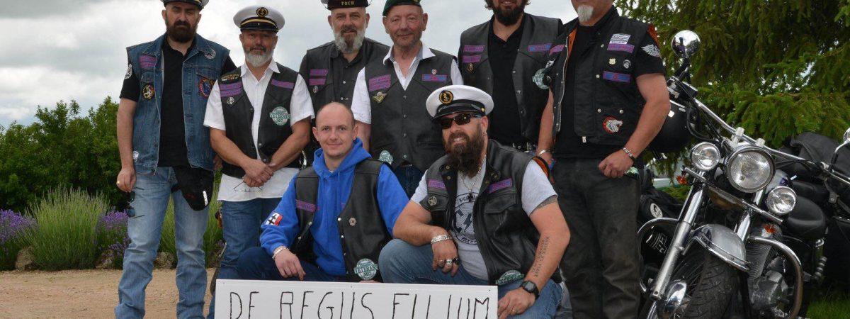 De Regiis Filium : des bikers de la Royale soutiennent l'Entraide Marine !