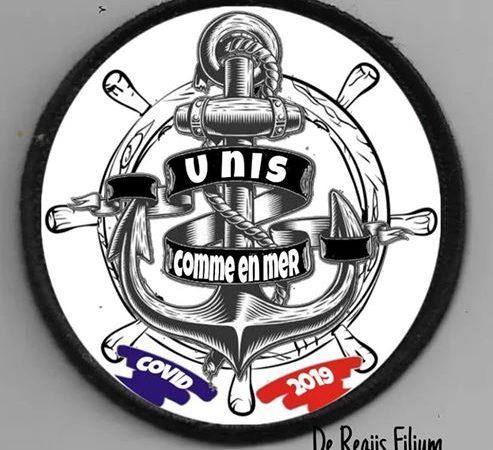 «De Regiis Filium», les bikers de la Marine nous soutiennent encore une fois, aidés des «Anciens du Porte Avions Foch R-99 / A-12 «São Paulo»»