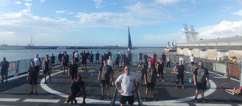 L'équipage de la FREMM La Provence se mobilise pour l'Entraide Marine !