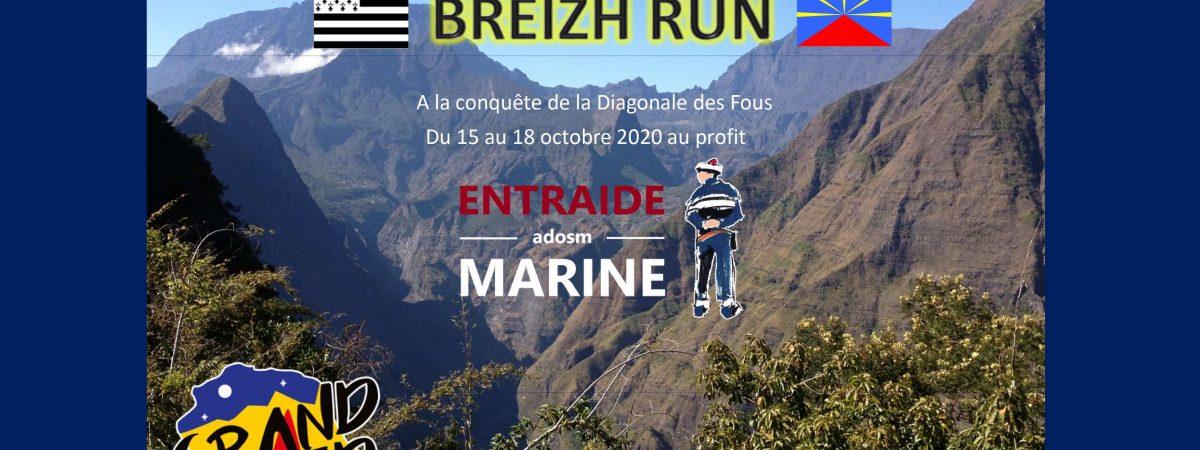 La Team Breizh Run a choisi de courir la Diagonale des Fous en nous soutenant !