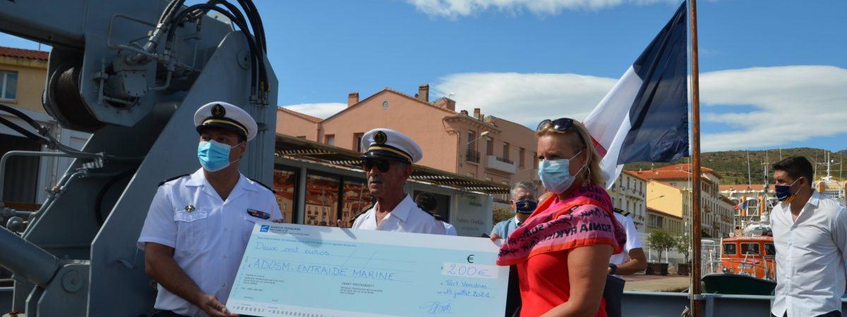 Remise de don de la préparation militaire Marine de Perpignan